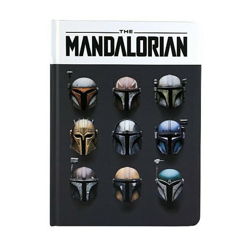 Star Wars The Mandalorian Helmets A5 Notebook Note Pad